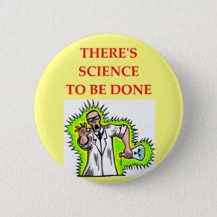 physics joke 6 cm round badge