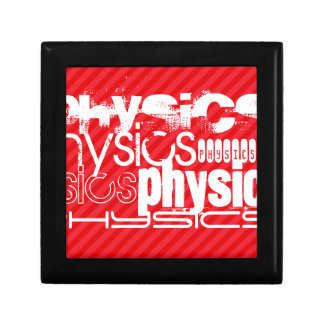 Physics; Scarlet Red Stripes Gift Box