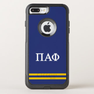Pi Alpha Phi   Sport Stripe OtterBox Commuter iPhone 8 Plus/7 Plus Case