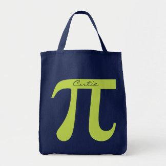 Pi / Cutie Pie tote bags