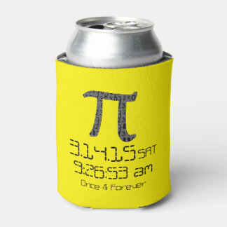 Pi Day March 2015 Custom design Can Cooler