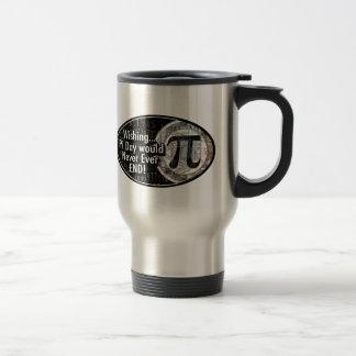 Pi Day Ovals Travel Mug