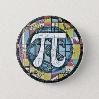 Pi Day Pi Symbols 6 Cm Round Badge