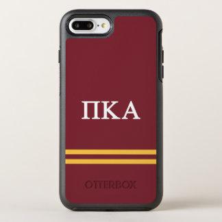 Pi Kappa Alpha   Sport Stripe OtterBox Symmetry iPhone 8 Plus/7 Plus Case