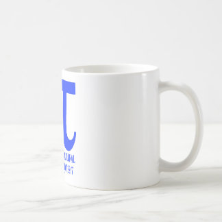Pi Probably Irrational Definitely Not 22/7 (Blue) Basic White Mug