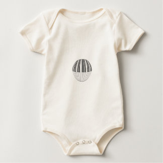 Piano Ball Baby Bodysuit