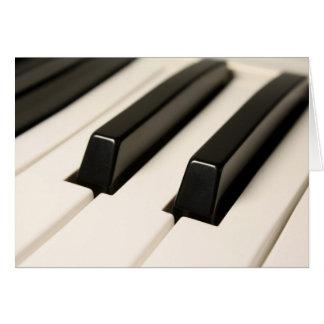 Piano Card