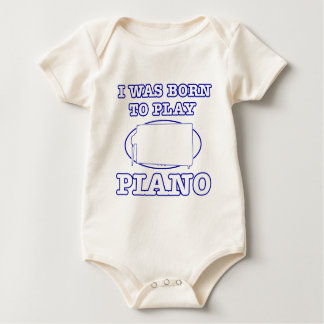 Piano Designs Baby Bodysuit