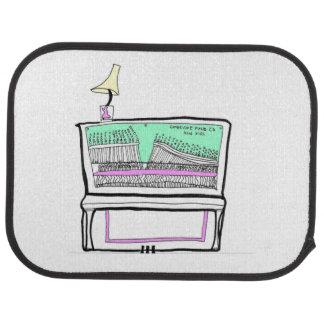 piano doormat car mat
