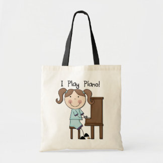 Piano - Female Tshirts and Gifts Tote Bag