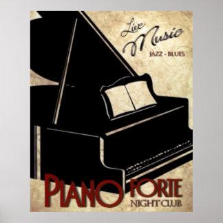 Piano Forte Poster