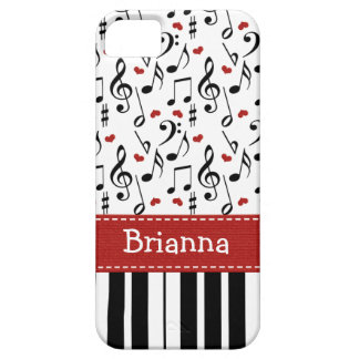Piano Keyboard Barely There iPhone 5 Case