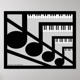 Piano Music Print