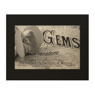 Pianoforte Gems Wood Canvas