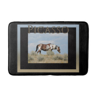 Picasso, Stallion of Sand Wash Basin Bath mat