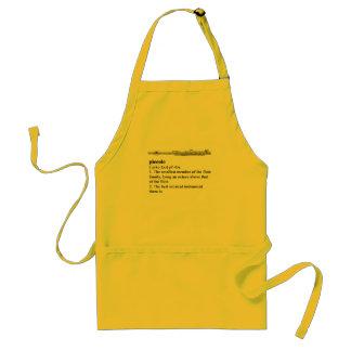 Piccolo definition standard apron