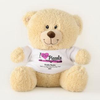 Piccolo Love Custom Marching Band Bear