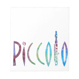 Piccolo Script Notepad
