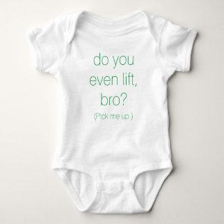 """Pick Me Up."" Baby Jumper Baby Bodysuit"
