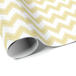 Pick Your Color w/Chevrons Yellow PYCC Wrapping Paper