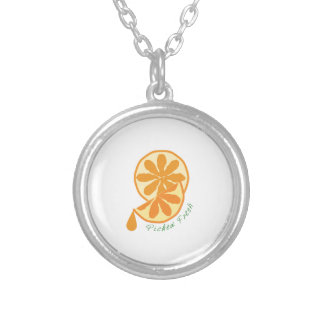 Picked Fresh Round Pendant Necklace