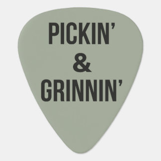 Pickin' and Grinnin' Guitar Pick