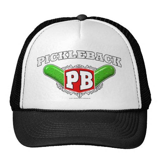 Pickleback Logo Mesh Hat