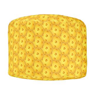 Pickleball Round Puff Cushion