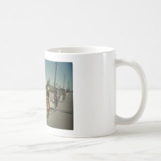 Pico's Cycling - Touring With Friends Basic White Mug