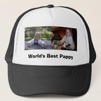 PICT0374, PICT0023, World's Best Pappy Trucker Hat