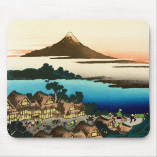 Pictorial Envelope 36 Views of Mount Fuji, Hokusai Mouse Pad