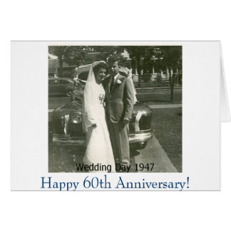 Picture1, Happy 60th Anniversary! Greeting Card