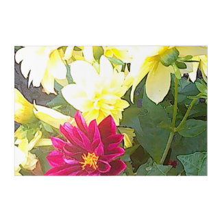 Picture of Flowers Acrylic Print