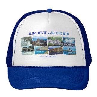PICTURESQUE IRELAND COLLAGE - Eight Scenic Designs Trucker Hat
