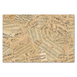 Pieces of Vintage Music ID389 Tissue Paper