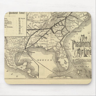 Piedmont Air Line Mouse Pad