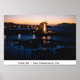 Pier 39 ~ San Francisco, CA Posters