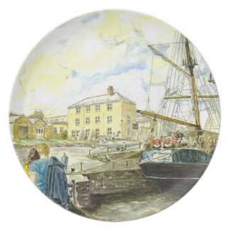 'Pier House Hotel' Plate