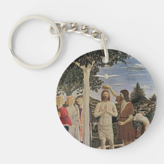 Piero della Francesca- Baptism of Christ Acrylic Keychain