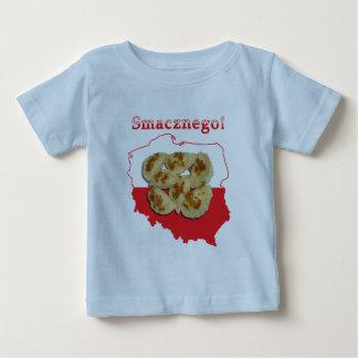 Pierogi Smacznego Polish Map Baby T-Shirt