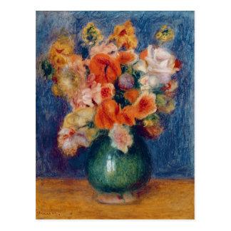 Pierre A Renoir | Bouquet Postcard
