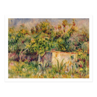 Pierre A Renoir | Cabin in a Clearing in a Wood Postcard