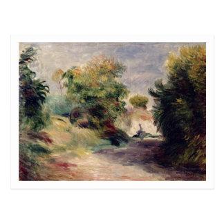 Pierre A Renoir | Landscape near Cagnes Postcard
