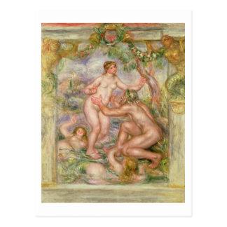 Pierre A Renoir | Saone flowing into the Rhone Postcard