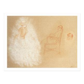 Pierre A Renoir | Studies of Women Postcard