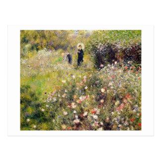 Pierre A Renoir | Summer Landscape Postcard