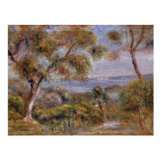 Pierre A Renoir | The Sea at Cagnes Postcard