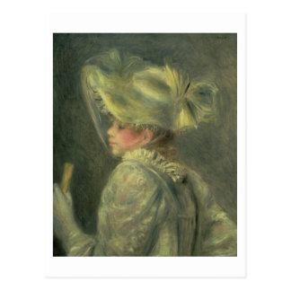 Pierre A Renoir | The White Hat Postcard