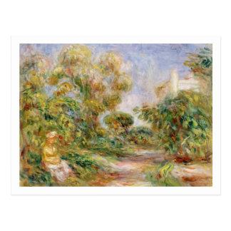 Pierre A Renoir | Woman in a Landscape Postcard