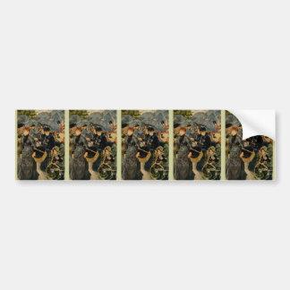 Pierre-Auguste Renoir's The Umbrellas (1883) Bumper Sticker